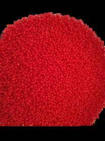 Kulki żelowe wodne czerwone, kreatywne DIY