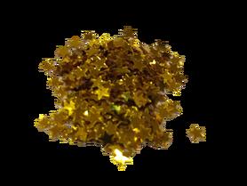 Cekiny mini gwiazdeczki 4mm, złote, ozdoba, kreatywne