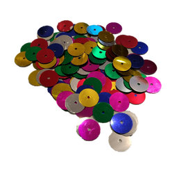 Cekiny kółeczka 10mm, ozdoba, kreatywne, mix kolorów
