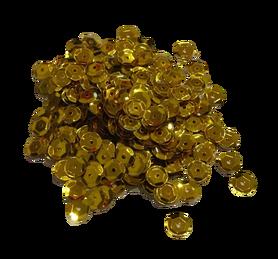 Cekiny kółeczka 7mm, ozdoba, kreatywne, złote