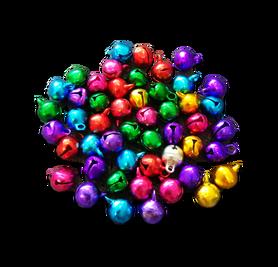 Dzwoneczki 10mm, mix kolorów, 50szt. kreatywne, diy