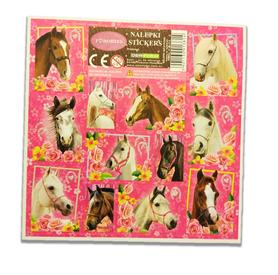 NAKLEJKI KONIE I LOVE HORSES KONIKI