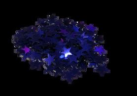 Cekiny gwiazdeczki 10mm, niebieskie, gwiazdki, kreatywne