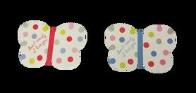 Ozdoba lizaka motylek - 10szt. dekoracja słodyczy