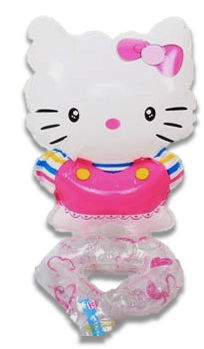 BALON FOLIOWY NA NADGARSTEK RĘKE HELLO KITTY