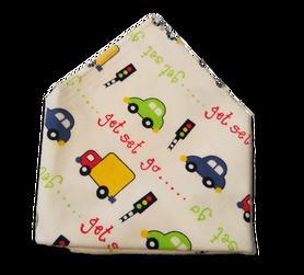 Chusta, apaszka, bawełniana dla dzieci, samochody