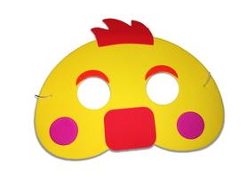 Karnawałowa maska piankowa kurczak