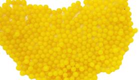 Kulki żelowe wodne żółte 15mm, DIY, do kwiatów
