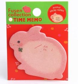Karteczki, naklejki, zakładki, króliczek samoprzylepne