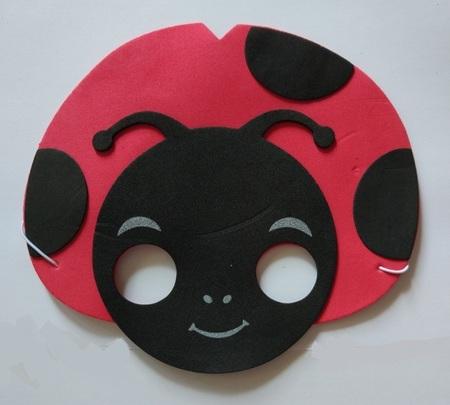 Karnawalowa Maska Piankowa Biedronka