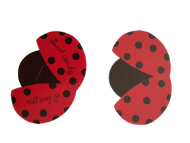 Ozdoba lizaka biedronka - 10szt. dekoracja słodyczy