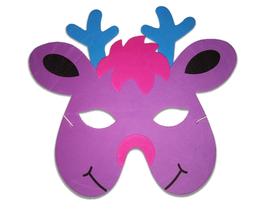 Karnawałowa maska piankowa renifer