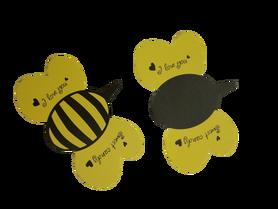 Ozdoba lizaka pszczoła - 10szt. dekoracja słodyczy