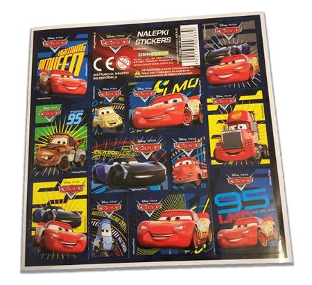 NAKLEJKI BAJKOWE CARS AUTA (1)
