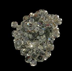 Cekiny kółeczka 7mm, ozdoba, kreatywne, srebrne