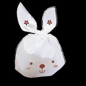 Torebeczki na cukierki, na słodycze - 10szt/króliki