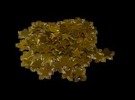 Cekiny gwiazdeczki 10mm, złote, gwiazdki, kreatywne