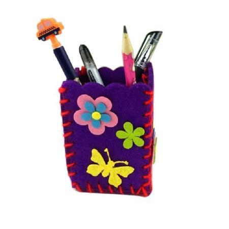 Zestaw kreatywny, przybornik zrób to sam, fioletowy (1)