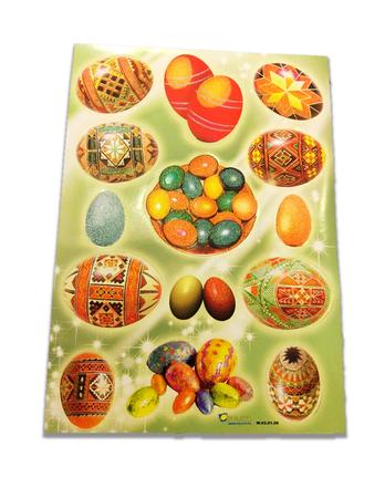 Naklejki na wielkanoc, wielkanocne pisanki, jajka (1)