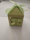 Pudełeczko dekoracyjne na cukierki, dla gości, zielone (2)