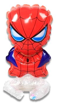 BALON FOLIOWY NA NADGARSTEK RĘKE SPIDERMAN (1)