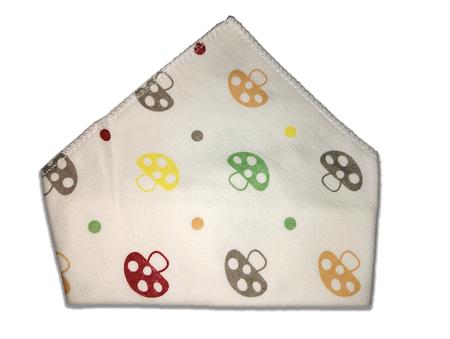 Chusta, apaszka, bawełniana dla dzieci, grzybki (1)