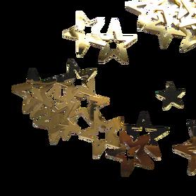 Cekiny gwiazdeczki złote gwiazdki, kreatywne
