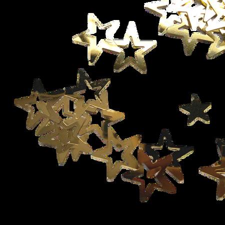 Cekiny gwiazdeczki złote gwiazdki, kreatywne (1)