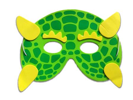 Karnawałowa maska piankowa stworek (1)