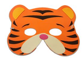 Karnawałowa maska piankowa tygrysek