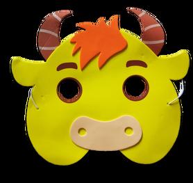 Karnawałowa maska piankowa byk